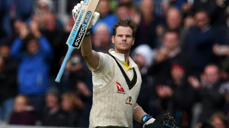 Australian batsman Steve Smith returned to action and took control of the fourth Ashes Test match by scoring a double ton, which put Australia in a strong position against the hosts, England. (Photo: AFP)