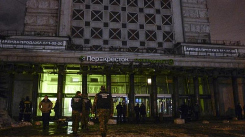 'Amaq', an Islamic State-linked agency carried out the Saint Petersburg bombings,' IS said in a statement. (Photo: AFP)