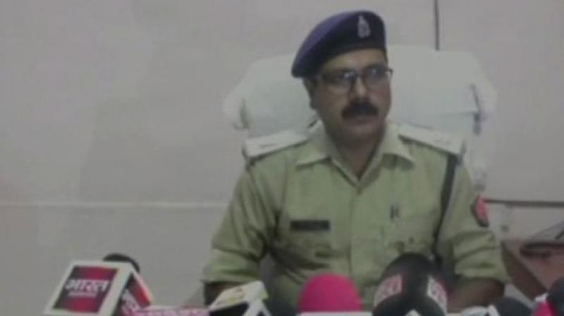 'She was depressed as her daughter was ill and wasn't responding to any treatment. After her daughter died, she told her neighbour about it and set fire to the house and fled,' the police official told reporters. (Photo: ANI | Twitter)