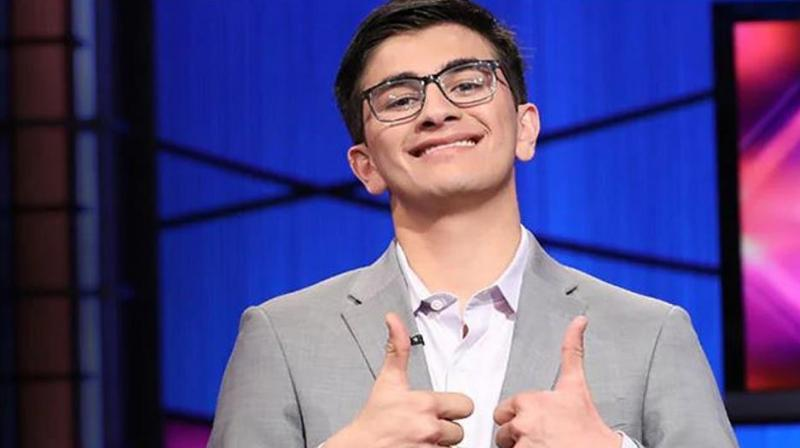 Avi Gupta's victory on Friday marked a near-clean sweep of popular student contests in the past year by Indian-Americans. (Photo: Jeopardy | Twitter)