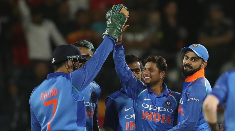 Even if South Africa wins 6th ODI on Friday, India will remain no 1 on 121 points, while South Africa will end on 119 points. (Photo: BCCI)