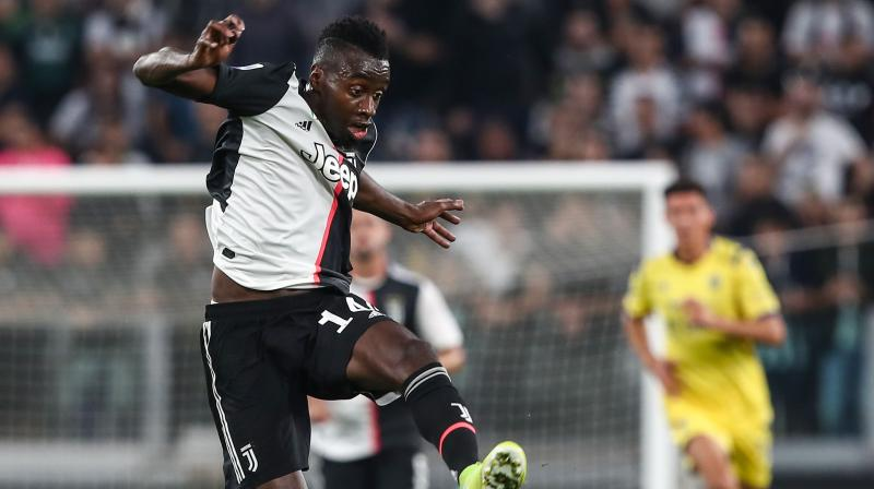 The equaliser came when Brescia goalkeeper Jesse Joronen shoved a Paulo Dybala corner into Chancellor's path. However, later on, Paolo Dybala made way for Blaise Matuidi. (Photo:AFP)