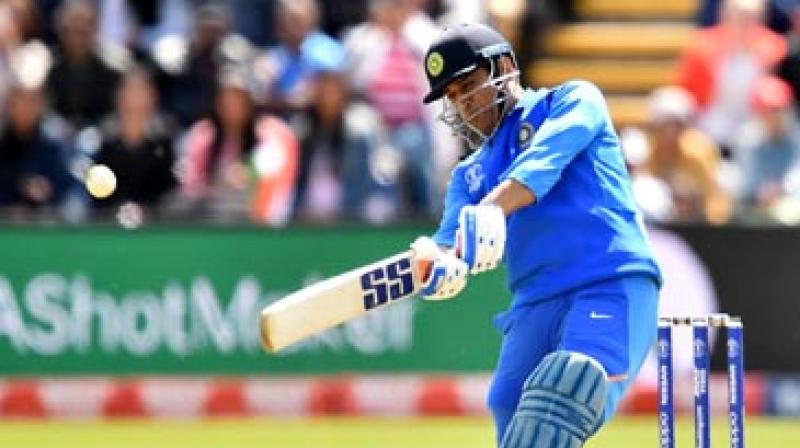 Charismatic former India skipper Mahendra Singh Dhoni was on Wednesday picked as captain of ESPNCricinfo's ODI and Twenty20 teams of the decade, while Virat Kohli was named the leader in Tests.(Photo:AFP)