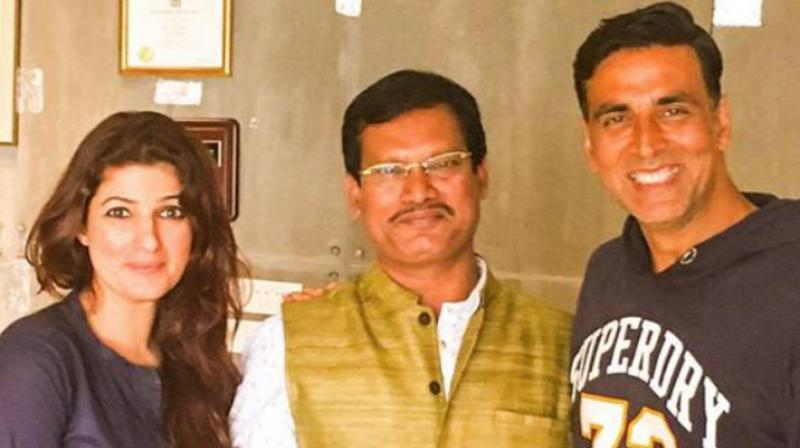 It was not all that easy for Akshay Kumar and Twinkle Khanna to convince Arunachalam Muruganantham for this film.