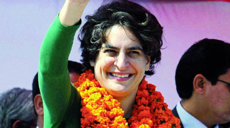File image of Priyanka Gandhi.