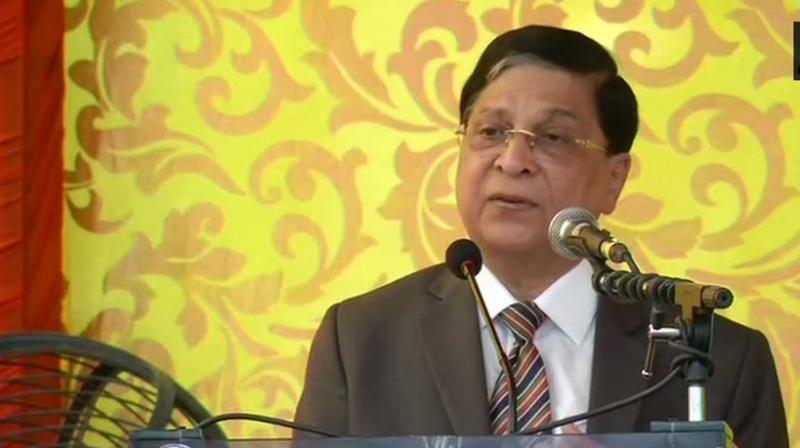 Dipak Misra, who demitted office on October 2, also questioned how anyone can indulge in moral policing when there is a rule of law and a robust and independent judiciary. (Photo: File | PTI)