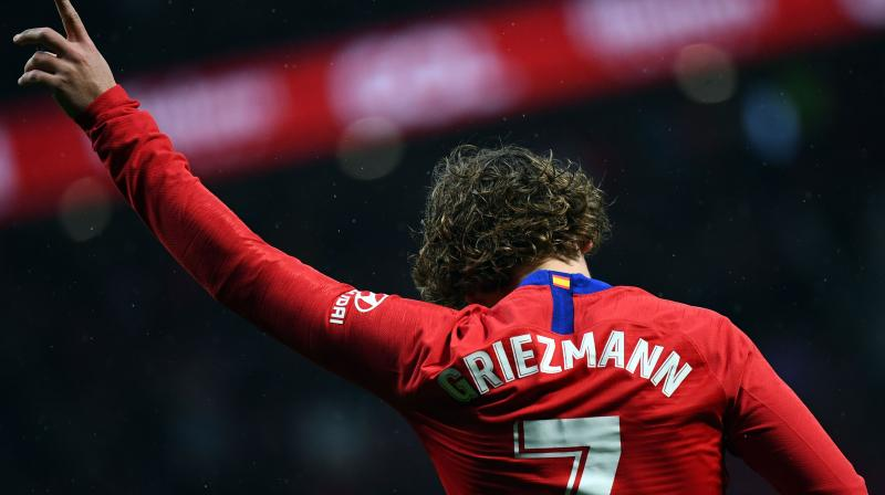 Griezmann is the top scorer for Atletico Madrid in La Liga with 15 goals this season. (Photo: AFP)