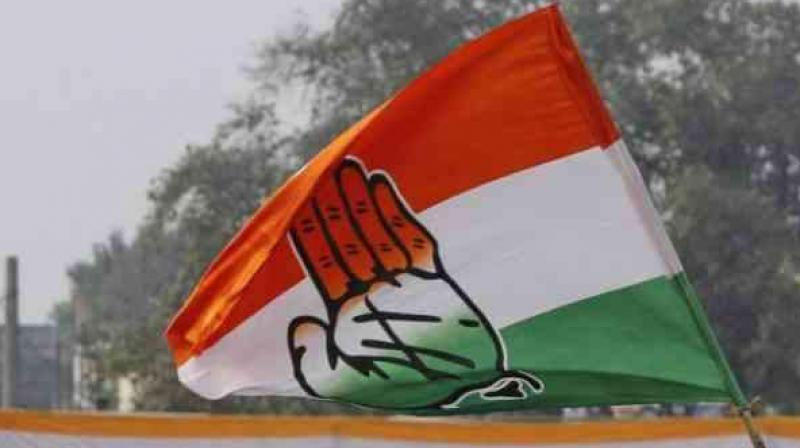 The Congress has sought applications particularly from the people having oratory skills, researchers, content writers and social media handlers to become spokesman of the party in MP. (Photo: PTI)