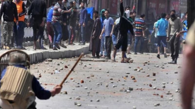 Intense clashes between irate crowds and security forces are underway near the encounter site, the witnesses and the police sources said. (Representational image)