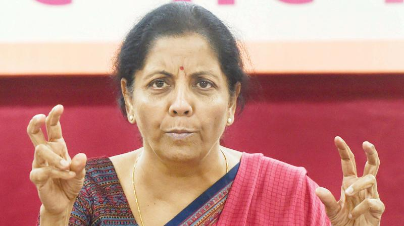Defence minister Nirmala Sitharaman. (Photo: PTI)
