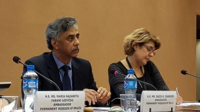 'We regret that reference has been made to the Indian State of Jammu and Kashmir,' India said. (Photo: File | Twitter | @IndiaUNGeneva)