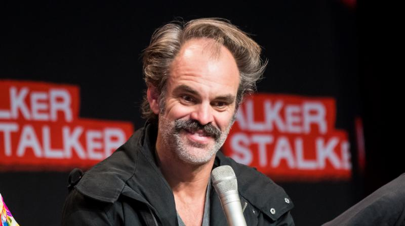 Steven Ogg appeared in a question and answer session at the Brazil Games show this year.