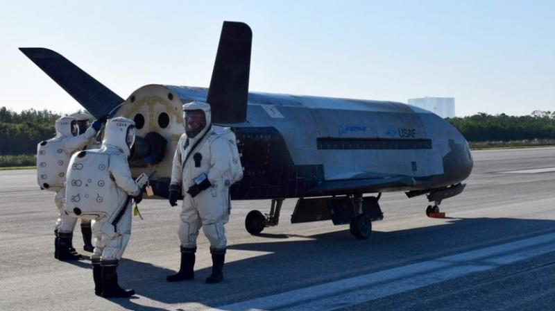 The spaceplane, roughly the size of a small bus and sharing many design features with NASA's Space Shuttle, was sent into orbit in 2017 atop a SpaceX Falcon 9 rocket. (Photo: SpaceNews)