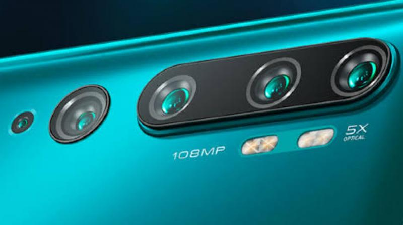 The rear camera setup has five cameras consisting of a 108MP Samsung ISOCELL Bright HMX sensor, which was developed in collaboration with Samsung.