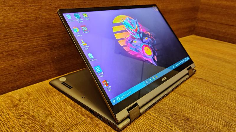 The Zenbook Flip a 14-inch convertible laptop that features a solid build, a super-compact design, decent specifications and the ability to be turned into a touch-enabled tablet.