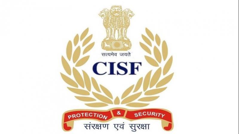 The CISF logo.