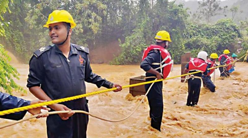 Gangaram Baderia, claimed on Thursday that it had not ignored it and it was not the cause of the recent major landslides and floods in Kodagu.