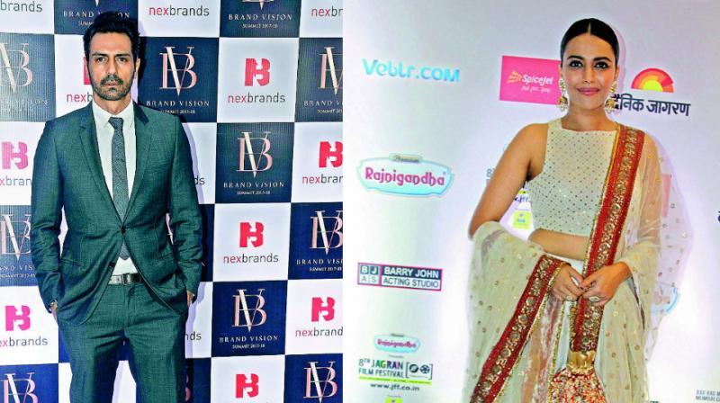 Arjun Rampal and Swara Bhaskar