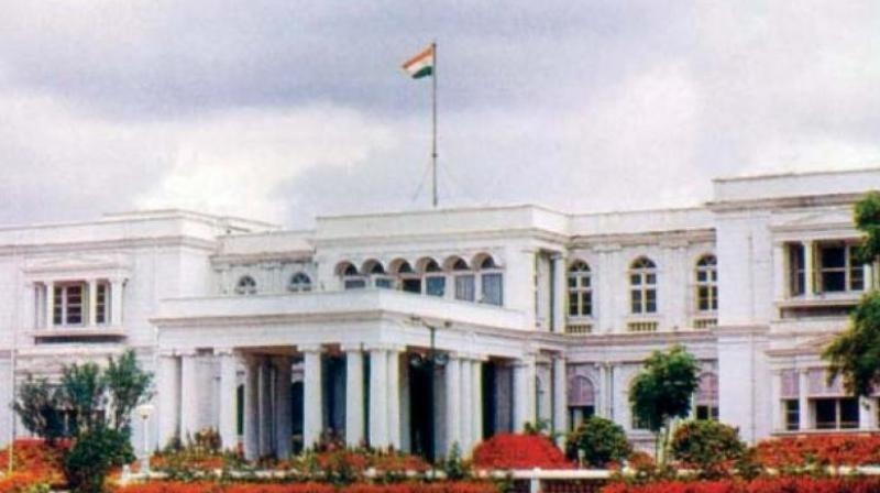 The Raj Bhavan building was built by a British army officer Sir Mark Cubbon between 1840 and 1842 when he was the Commissioner of the then Mysore territories. (Photo: File)