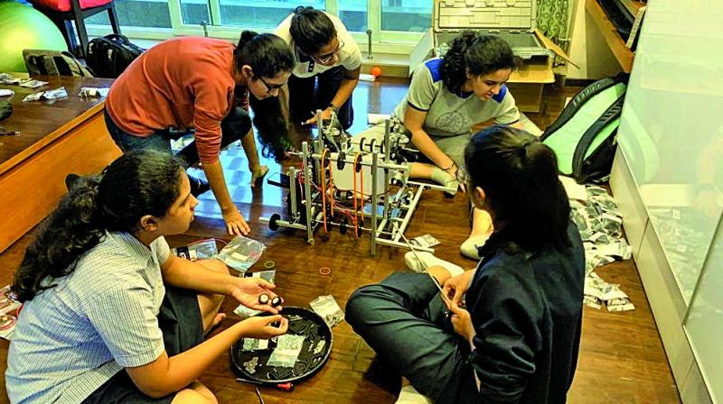 Scheduled to be held between October 24 and 27 in Dubai, the event will witness the first all-girls team to represent India in STEM/robotics.