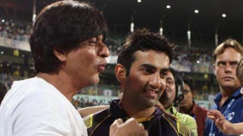 Shah Rukh Khan offered help to Gautam Gambhir in his endeavour to feed the poor. (Photo: BCCI)
