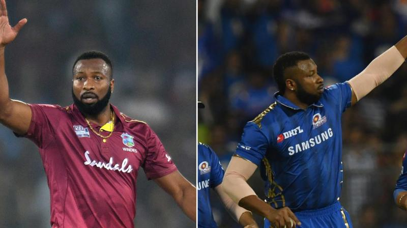West Indies coach Phil Simmons on Tuesday said the team would be banking heavily on skipper Kieron Pollard in the series-deciding third T20 International against India as his understanding of the pitch due to IPL exposure will be 'invaluable' for the bowlers. (Photo: AFP)