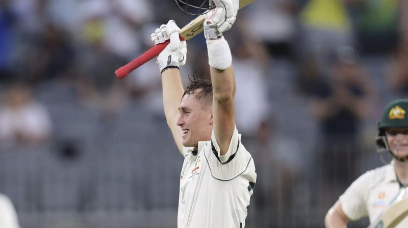 Marnus Labuschagne's century leads Australia to 248/4 at stumps on the opening day of the first Test against New Zealand on Thursday. (Photo: AP/PTI)