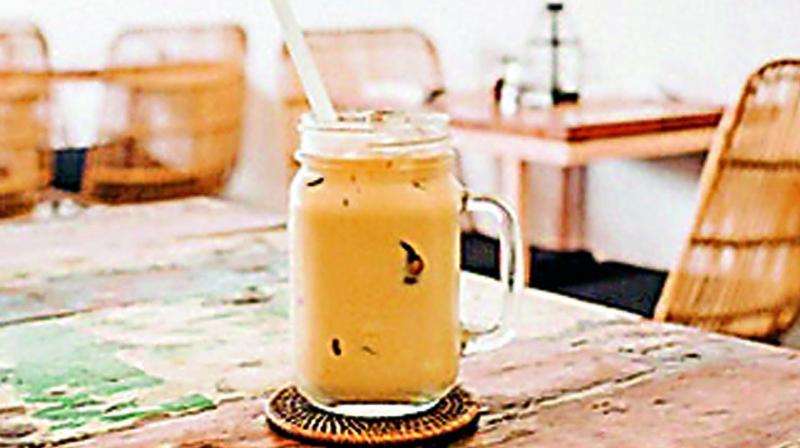 Caramel Cold Coffee