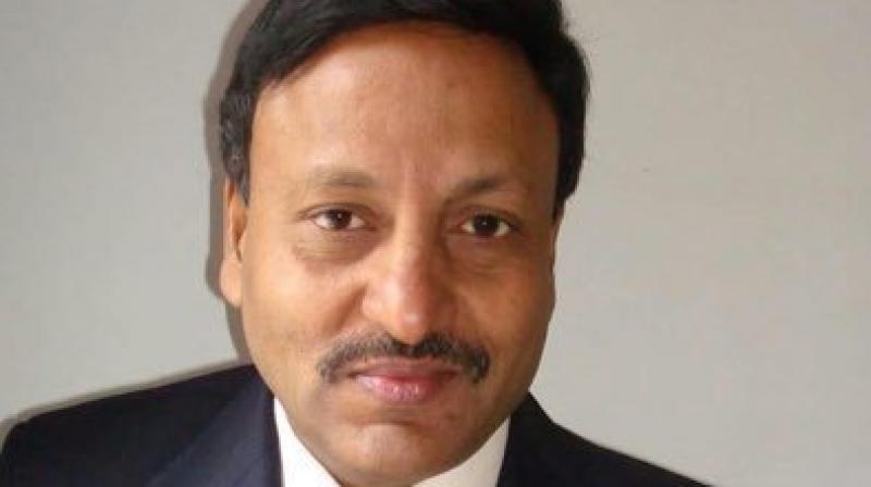 Secretary of Department of Financial Services Rajiv Kumar. (Photo: Twitter)