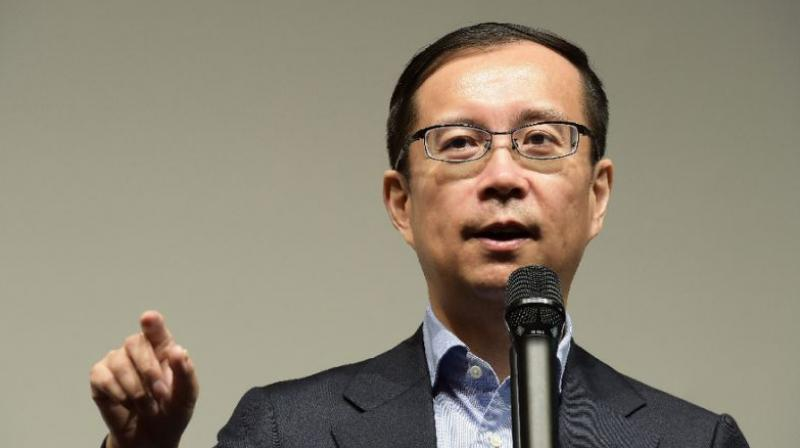 CEO Daniel Zhang will succeed Jack Ma as chairman of the board of Alibaba Group. (Photo: AFP)