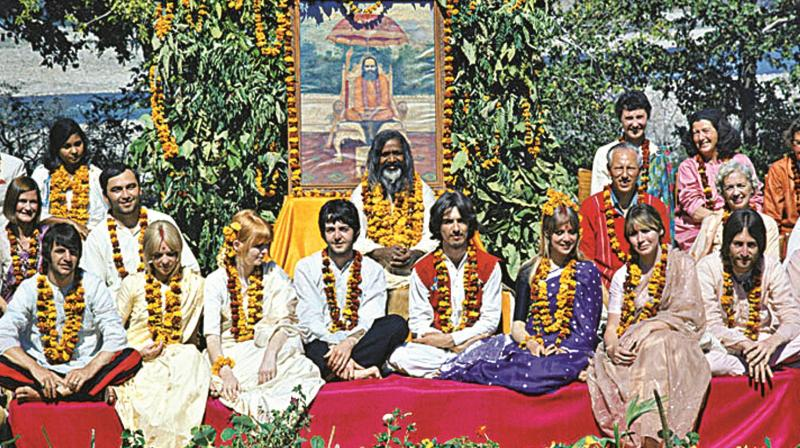 Noted photographer Paul Saltzman's talks about his exhibition that has 25 rare photographs of The Beatles, clicked during his week-long stay in Rishikesh. (Pic Credit: Paul Saltzman)