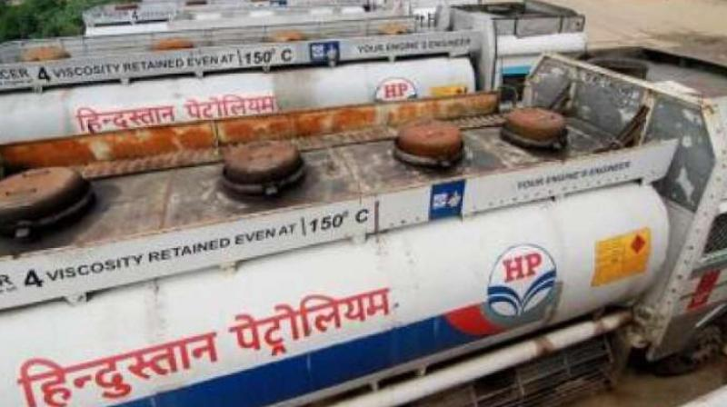 Hindustan Petroleum also fell to its 52-week low of Rs 165.45, down 25 per cent over its last closing price.