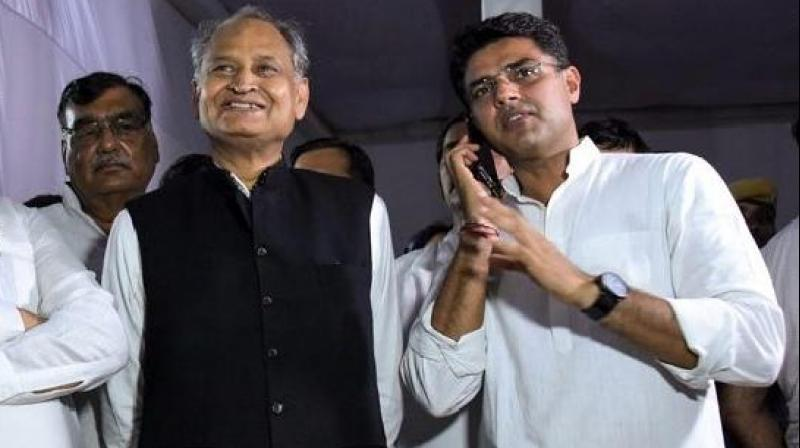 Rajasthan has a 200-member Assembly but polling on Alwar's Ramgarh constituency was postponed following the death of the BSP candidate. (Photo: PTI)