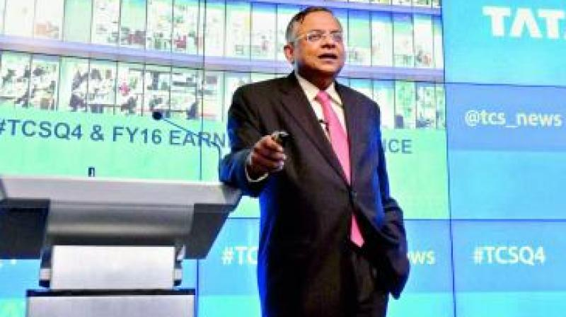 On January 12, TCS chief Chandrasekaran was named the new Chairman of Tata Sons.