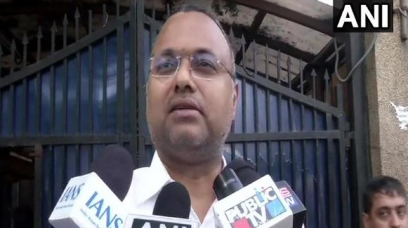 Adding further, Karti stated that such events were creating a very toxic and negative atmosphere for the polity of the country. (Photo: ANI)