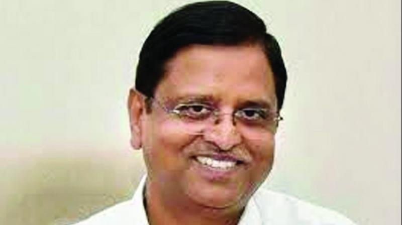 Power secretary Subhash Chandra Garg. (Photo: File)