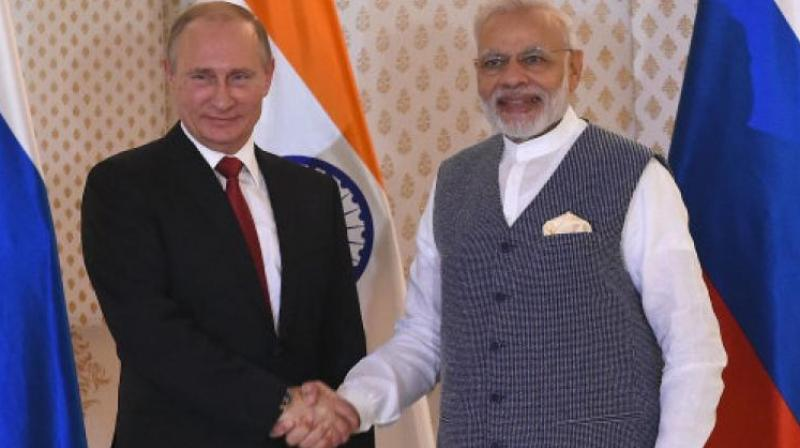 Prime Minister Narendra Modi and Russian President Vladimir Putin. (Photo: AFP/File)