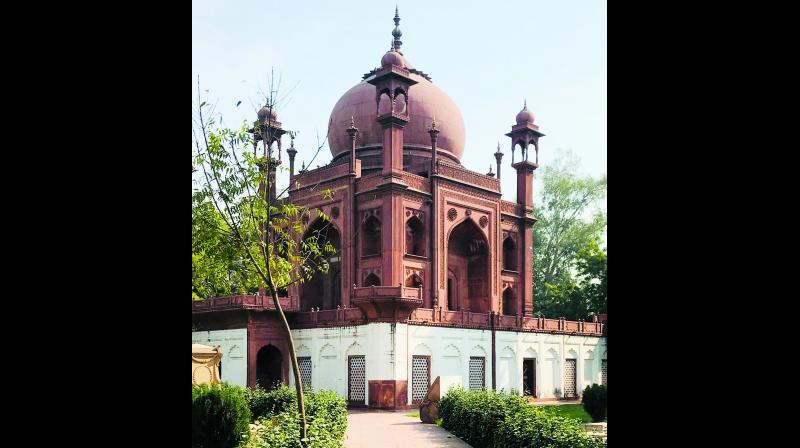 Red Taj Mahal