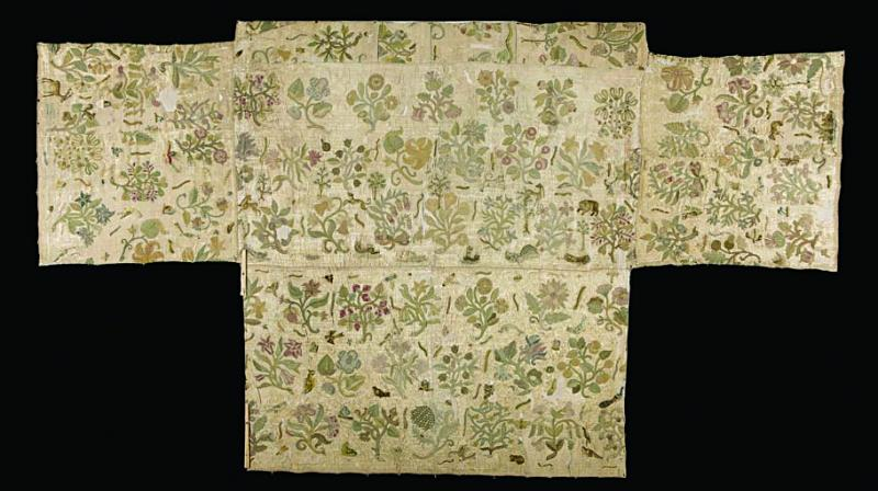 Experts, who spent a year studying the textile, said that it was once a skirt worn by the Tudor queen.