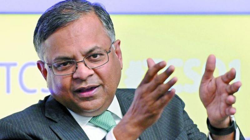 TCS CEO Natrajan Chandrasekaran