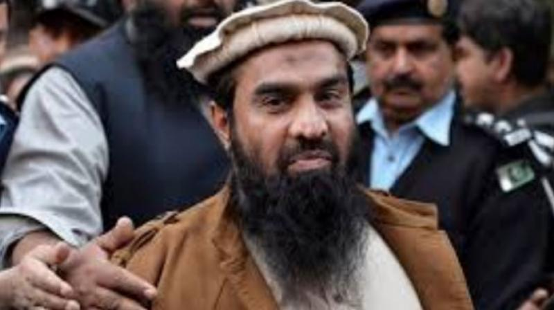 Anti-Terrorism Court (ATC) Lahore Judge Ejaz Ahmad Buttar sentenced UN proscribed terrorist Lakhvi to five years of rigorous imprisonment each on three counts with a fine of PKR 100,000 (approximately USD 620) each on three counts. (Photo:PTI)
