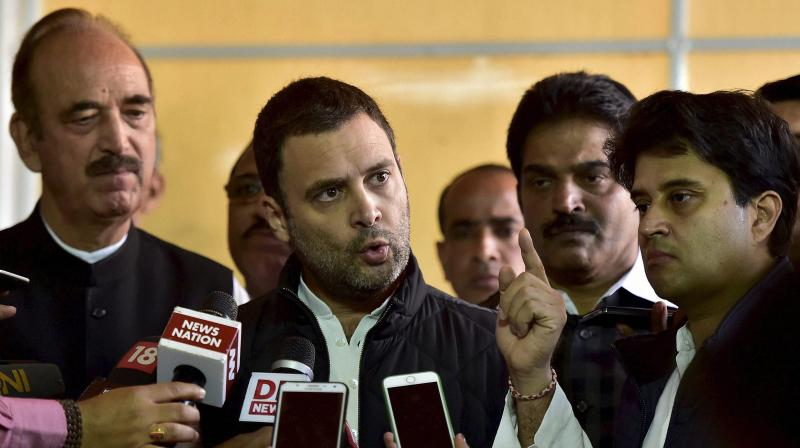 Congress Vice-President Rahul Gandhi. (Photo: PTI)