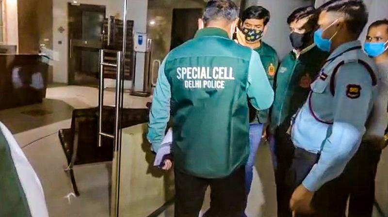 Delhi Police's Special Cell on Monday served a notice to Twitter India in connection with the probe into the alleged 'Covid toolkit' matter. (Photo:PTI)