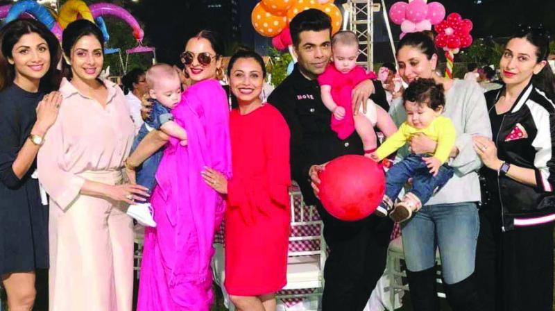 Rani's birthday bash for her daughter Adhira