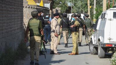 NIA searches at 16 locations in J&K, four arrested