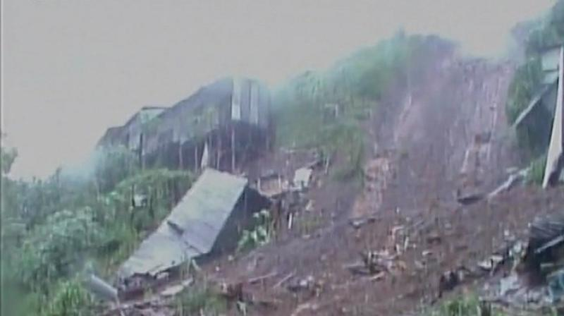 The landslide, which followed heavy rains, struck Bukalasi, situated on the slopes of Mount Elgon, on Thursday afternoon. (Representational image | ANI)
