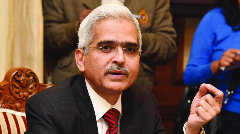 Reserve Bank governor Shaktikanta Das pointed towards a line in the monetary policy committee resolution, which makes it