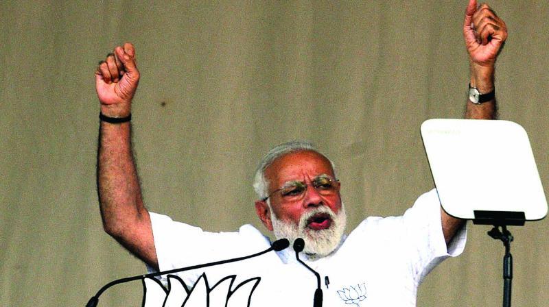 Prime Minister Narendra Modi (Photo: Abhijit Mukherjee)