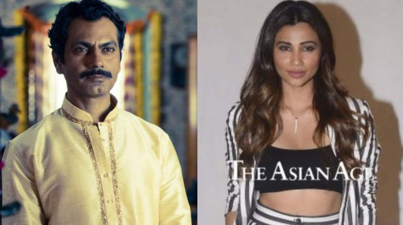 Nawazuddin Siddiqui in a still from 'Sacred Games', Daisy Shah during 'Race 3' promotions.