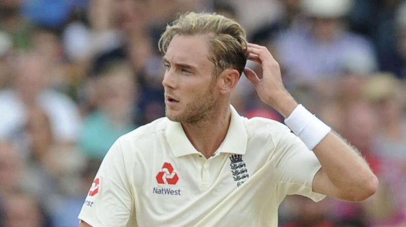 After dismissing him on Day 2 of the third England versus India Test, Stuart Broad had a go at young Indian Test debutant Rishabh Pant. (Photo: AP)